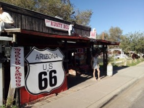 Route 66 and wild camp